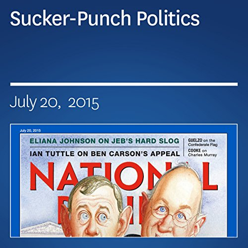 Sucker-Punch Politics audiobook cover art