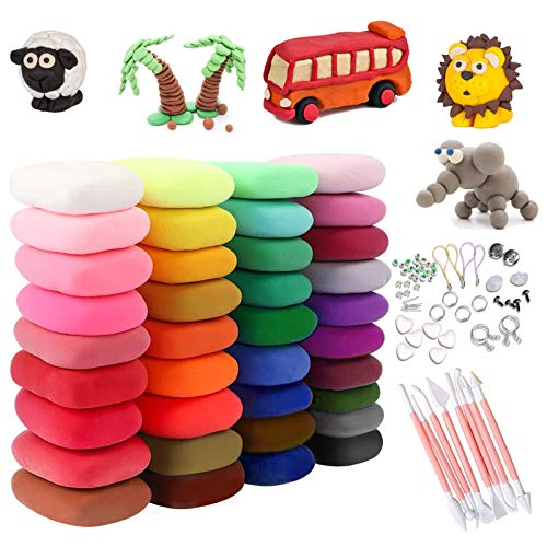 (40% OFF Coupon) Magic Clay 36 Colors $7.79