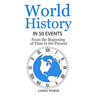 World History in 50 Events cover art