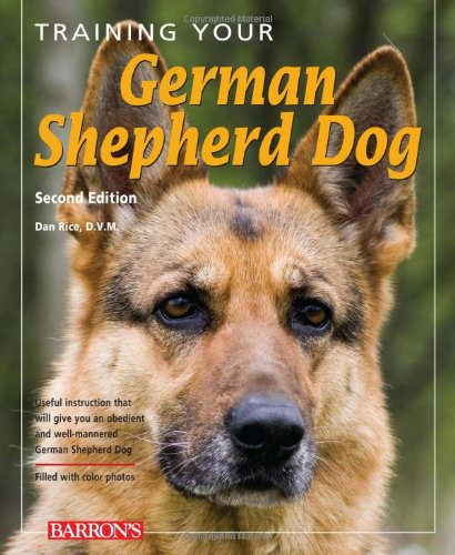 Training Your German Shepherd Dog Book (Training Your Dog Series)