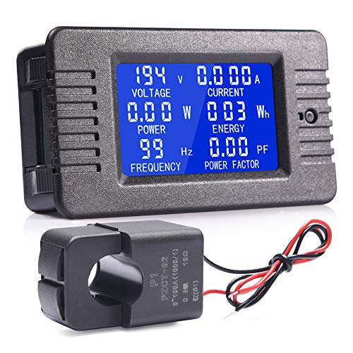 Buy Bargain MNJ Motor AC Current 80-260V 100A LCD Display Digital Multifunction Meter, Voltage Amper...
