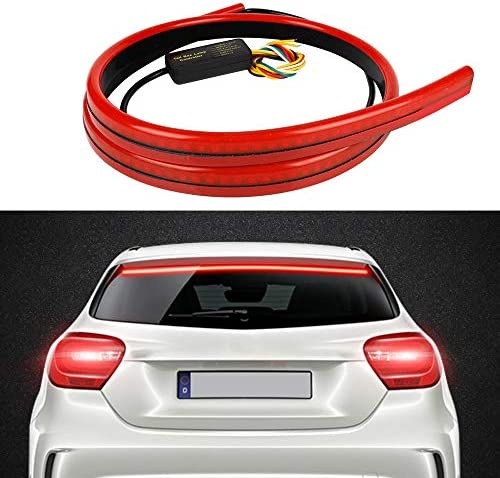 MIHAZ 5 Function Universal LED Third Brake Light 40 3rd Brake Light Bar Sequential Turn Signals product image