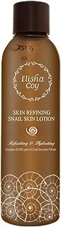 [EC ELISHACOY] Skin Refining Snail Skin Lotion 6.7 fl. oz. (200ml) - Korean Skin Care Snail Repair Facial Moisturizing Emulsion, Soft and Fresh Hydrating Without Sticky