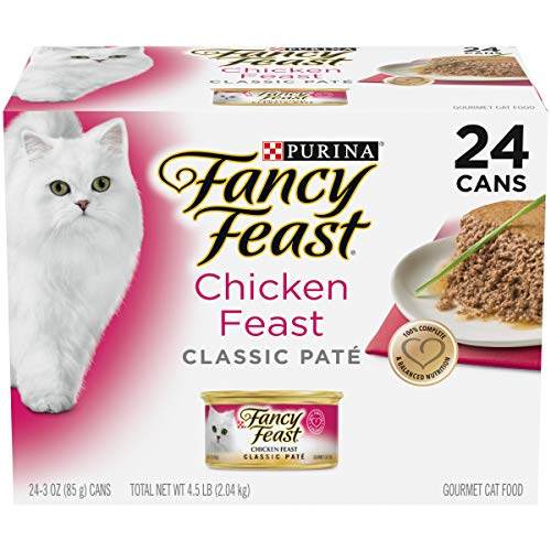 Purina Fancy Feast Grain Free Pate Wet Cat Food   Chewy
