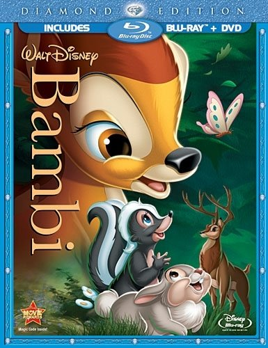 バンビ(北米版) blue-ray+dvd / bambi [import]
