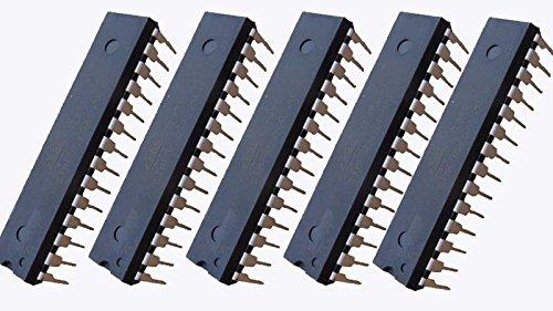 Atmel 5 microcontroladores ATmega328P-PU AVR.