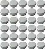30 Salbendöschen, Creme-döschen, Salbenkruke flach, 12ml Inhalt - Made IN Germany