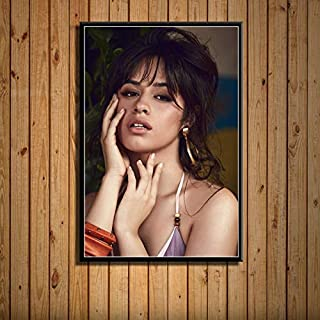 Mengyun Store Camila Cabello Pop Star Music Singer Arte De La Pared Imagen Lienzo Pintura Moderna Mural Decoración para El Hogar Pintura Sin Marco Carteles E Impresiones R-361 (50X70Cm)