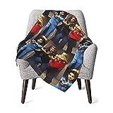 Hdadwy Jackie, Donna y Laurie - That 70s Show Baby Blanket Manta estampada súper suave que recibe la manta para niños niñas, cochecito, cuna, recién nacidos, recepción