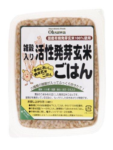 オーサワ 活性発芽玄米ごはん 雑穀入 160g