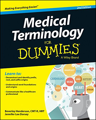 Medical Terminology Fd, 2e (For Dummies)