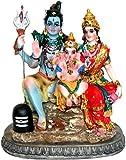 Krishna Culture Shiva Family 6 inches