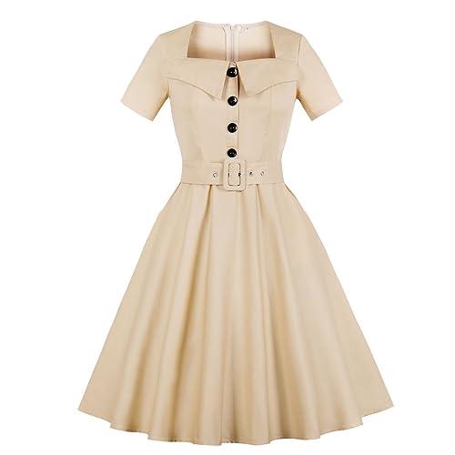 42d0a303c4 Vintage 70s Dresses: Amazon.com