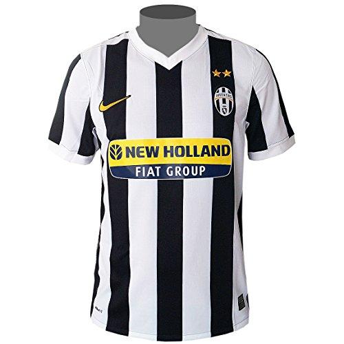 Nike Juventus Turin Herren Heim Trikot Jersey schwarz/weiß