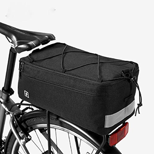 LKXZYX Bolsa de sillín de Bici Bicicleta,Asiento Trasero Impermeable,Alforjas Asiento Trasero Impermeable...