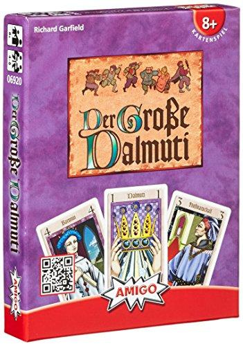Der Große Dalmuti. Kartenspiel: Das Leben ist ungerecht. Für 4 - 8 Spieler ab 8 Jahren