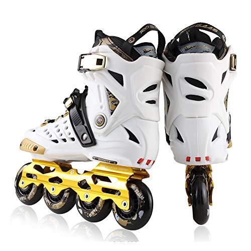 LXLTLB Deportes Patines en línea, Patinaje de Velocidad Zapatos de los Hombres...
