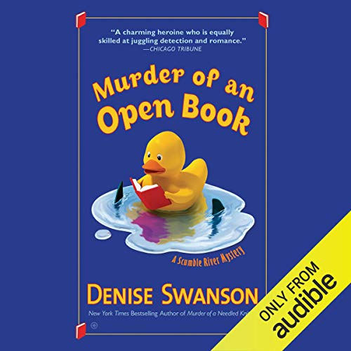 Murder of an Open Book cover art
