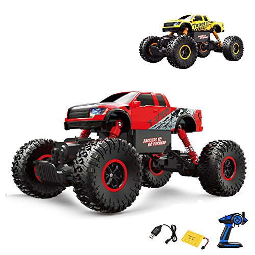 2,4GHz RC, Off Road Monster Truck veicolo, Crawler, scala 1: 16con 4WD, camion, auto, car, Set Completo