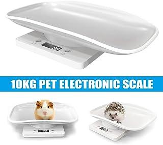 Proglam - Báscula Digital para medir el Peso de Mascotas, multifunción, portátil, para Perros y Gatos