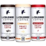 La Colombe Draft Latte Cold-Pressed Espresso Variety 9 oz Can (Mocha/Triple Shot/Vanilla, 12-pack)