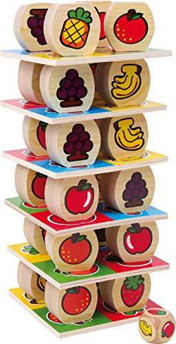 Legler 1474 - Torre de la fruta, juego de habilidad