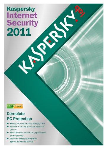 Kaspersky internet security 2011 (3 postes, 1 an) [import anglais]