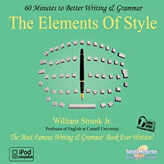 The Elements of Style: 60 Minutes to Better Writing & Grammar cover art