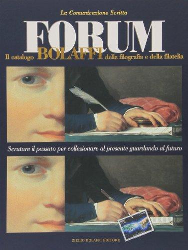 Forum. Il catalogo Bolaffi della filografia e della filatelia