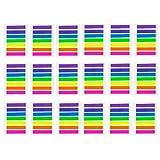JZK 2128 Stück Mini Haftmarker bunt Haftnotizen transparent Page Marker