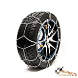 HABILL-AUTO Chaines Neige 9mm Premium Tension s Automatique 215/55 R16-215 55 16-215 55 R16