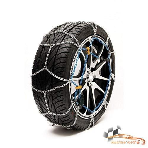 HABILL-AUTO Chaines Neige 9mm Premium Tension s Automatique 225/45 R19-225 45 19-225 45 R19