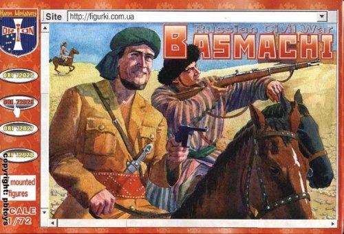 ORION ori72026 – basmachi, Russian Civil War, 1918–1922, Plastique de modèle