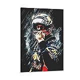 SADFSD Sebastian Vettel Poster, dekoratives Gemälde,