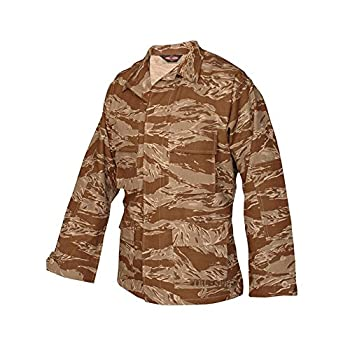 Tru-Spec Original Jacket D/P Tiger Stripe Rip Stop BDU Large Regular 1596005