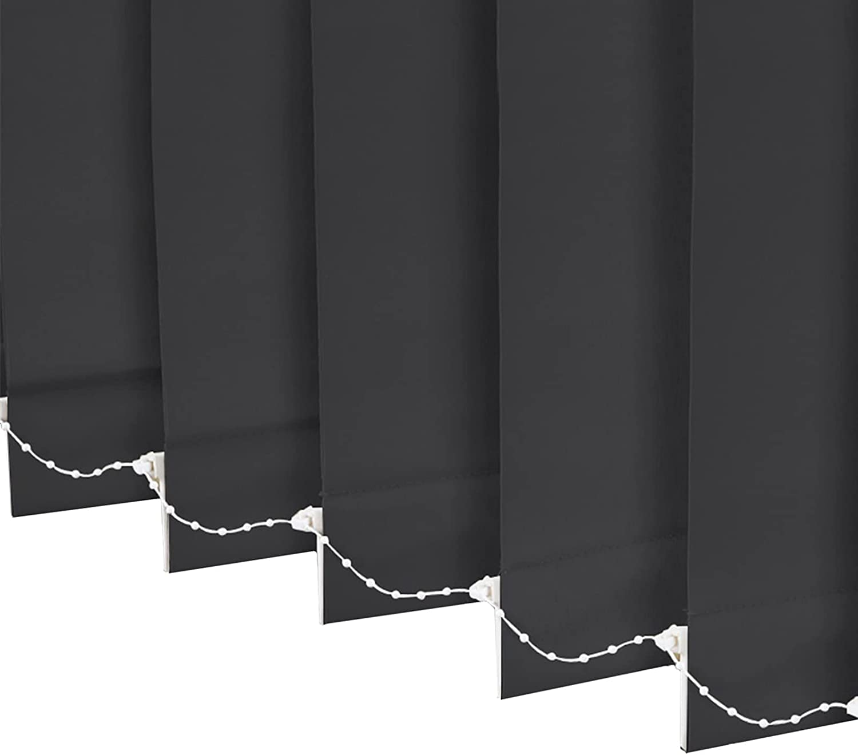 Grey Windows Vertical Blinds 140 130 120 Wide 100cm B 110 Direct sale of manufacturer 100% Ranking TOP12