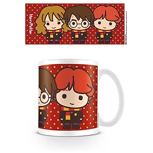 HARRY POTTER MG24464 (Kawaii Harry Ron Hermione) Mug, Céramique, Multicolore, 11oz/315ml