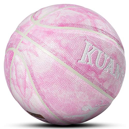 Best Review Of Kuangmi Cool Basketball Personality Streetball for Men Women Teenager Youth (Pink, In...