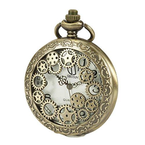 SIBOSUN Relojes de bolsillo