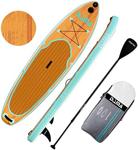 DAMA Blow Up Paddle Boards Adults 9 6 x30 x6 Traveling Board Yoga Board Camera Seat Floating product image
