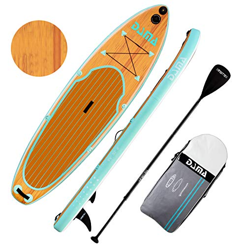 "DAMA Inflatable Stand Up Paddle Board 10'6''x32""x6'' SUP w/Accessories 