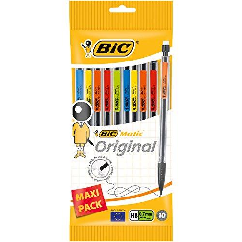 Bic Matic Einweg-Druckbleistifte, klassisch, 0,7mm, 10er-Pack