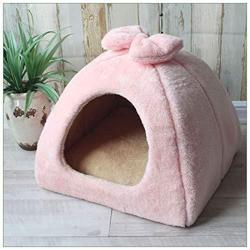 LIRUI huisdier kat hond grot bed groot, huis opvouwbare tent zachte honden bedden Mongoolse Yurts schattig Kennel Nest kleine dieren Puppy Chihuahua House Mat