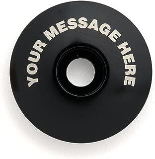 KustomCaps Customizable Your Message Here 1 1/8