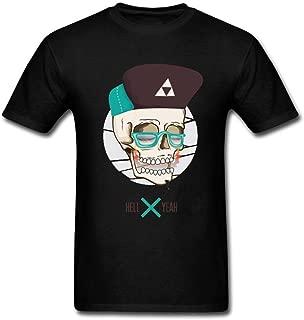 Men's Hellyeah Short Sleeve T Shirt Black