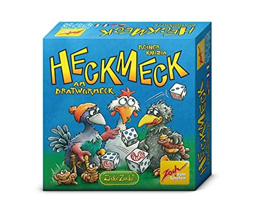 Zoch 601125200 Heckmeck am Bratwurmeck, das turbulente Würfelspiel im beliebten Hühnerambiente für schlaue Vögel, die den Bratwurm gerochen haben, ab 8 Jahren, Bunt