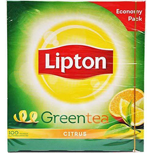 Lipton Green Tea Citrus 100 Beuteln 130g