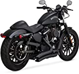 Vance & Hines Big Radius 2 into 2 Exhaust Black 46067