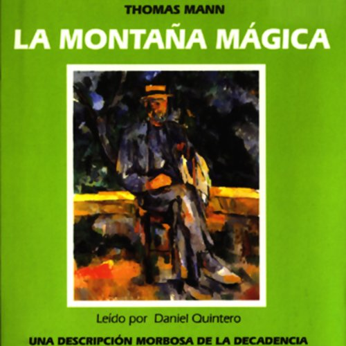 La Montana Magica [The Magic Mountain] audiobook cover art