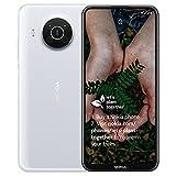 Nokia X10 - Smartphone 64GB, 6GB RAM, Dual Sim, Snow White